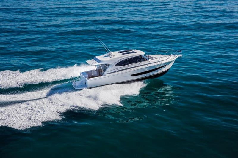 The Riviera 395 SUV made her World Premiere at the 2018 Sanctuary Cove International Boat Show - photo © Riviera Australia