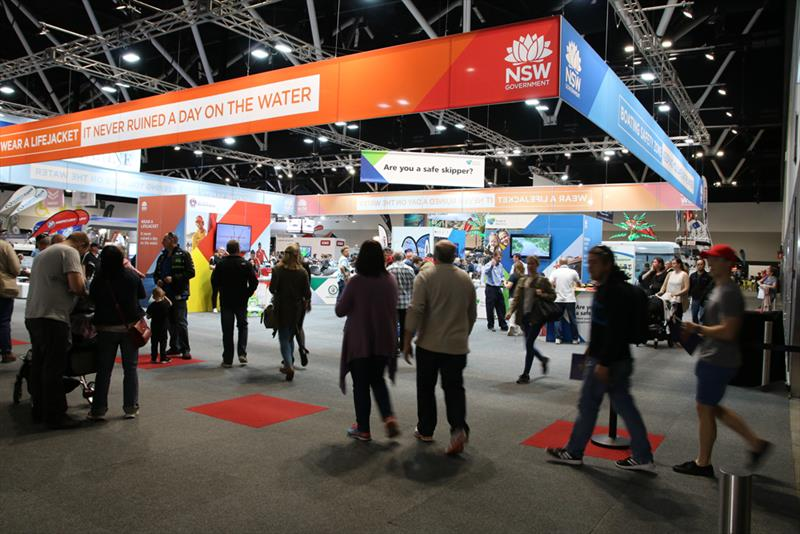 Sydney International Boat Show - Boating Safety Zone - photo © AAP Medianet