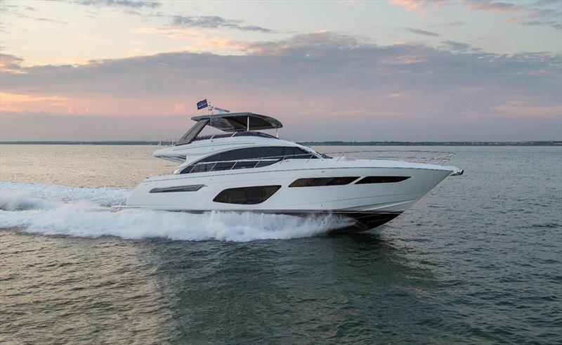 Princess F70 - photo © Princess Yachts