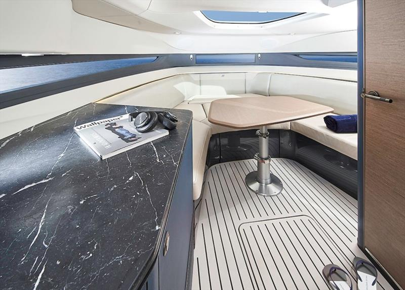 Princess R35 - Forward Cabin - photo © Princess Yachts