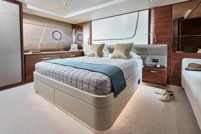 Princess 70 Master Stateroom photo copyright Princess Yachts taken at  and featuring the Power boat class