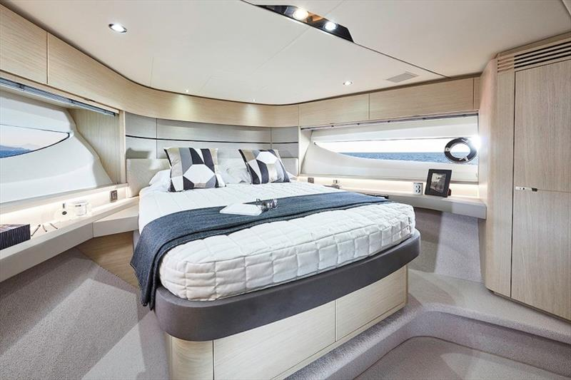 Princess V60 Forward Cabin - photo © Princess Yachts