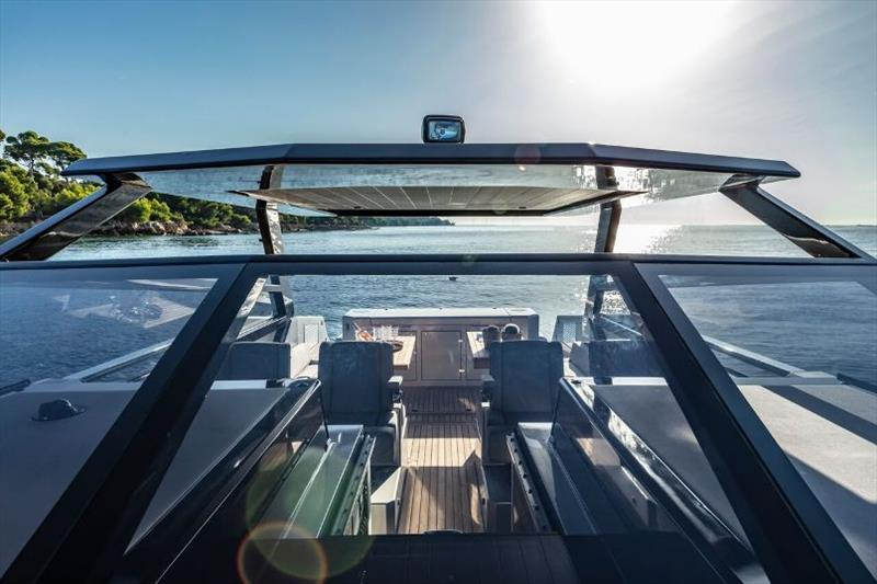 Mazu 52HT photo copyright Mazu Yachts taken at  and featuring the Power boat class