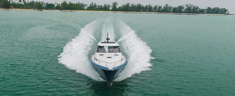 Palm Beach GT 50 photo copyright Palm Beach Motor Yachts taken at  and featuring the Power boat class