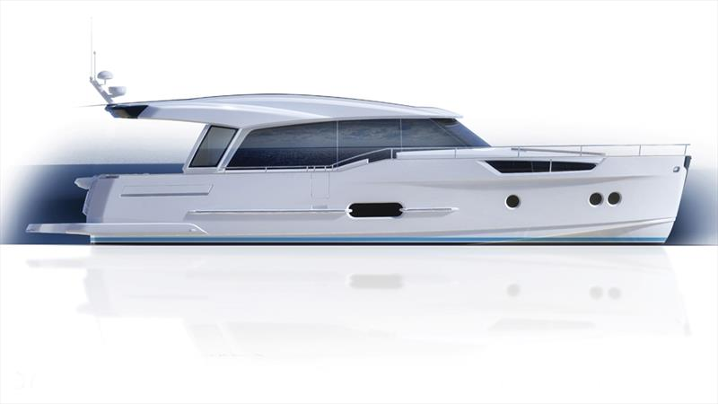 Greenline 48 Coupe - photo © Greenline Yachts
