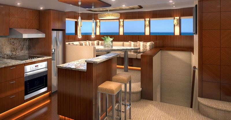 Johnson 80 - photo © Johnson Yachts