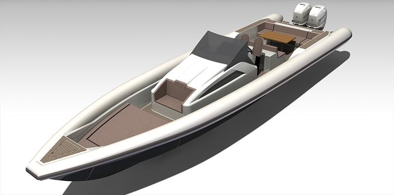 New sport cruiser RIB Explorer 40 - photo © Sand People