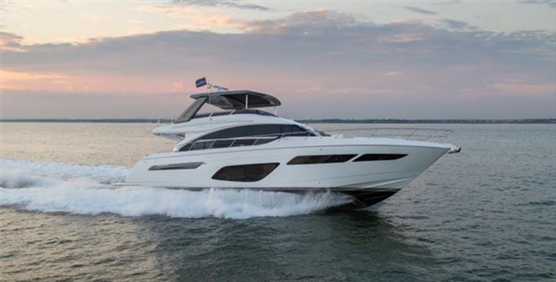 The Striking New Princess F70 photo copyright Princess Yachts taken at  and featuring the Power boat class