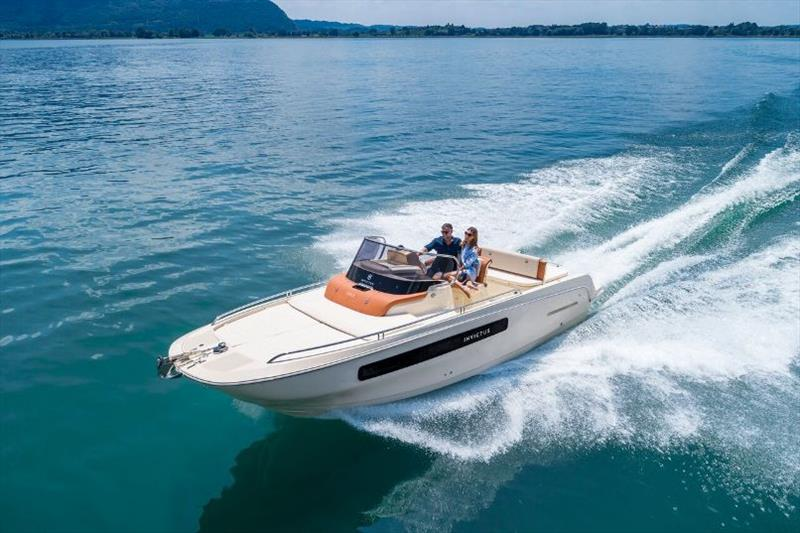 Invictus CX250 photo copyright Invictus Yacht taken at  and featuring the Power boat class