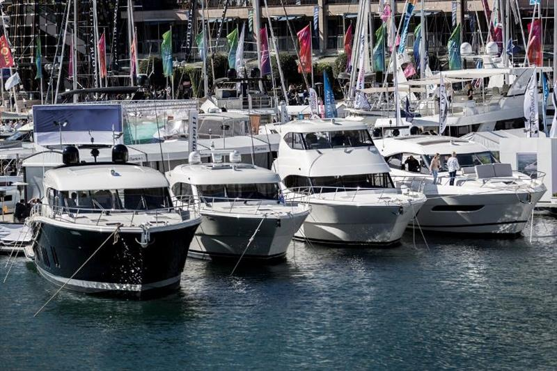 Sanctuary Cove International Boat Show photo copyright Maritimo taken at  and featuring the Power boat class