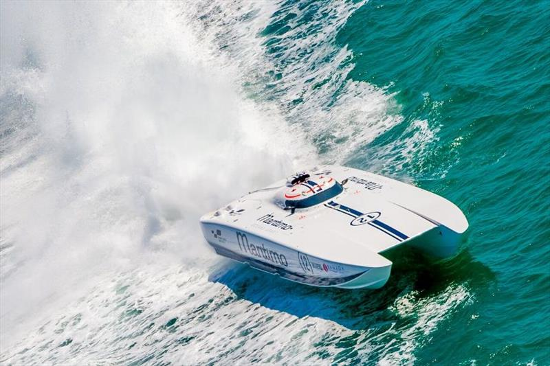 Maritimo Racing photo copyright Maritimo taken at  and featuring the Power boat class