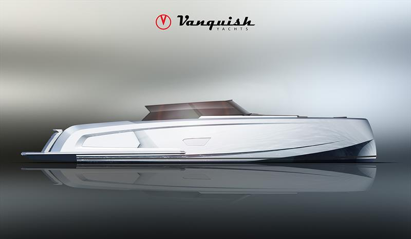 The all new VQ58 photo copyright Vanquish Yachts taken at  and featuring the Power boat class