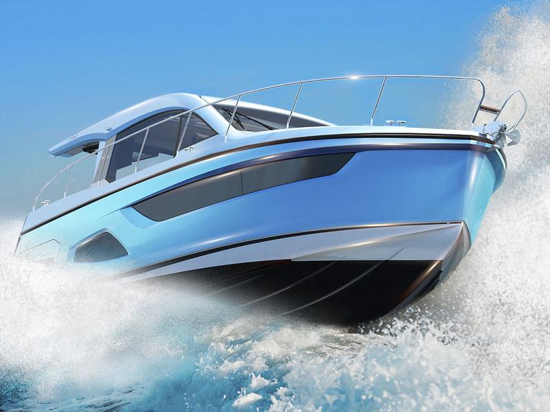 The new Sealine C390 photo copyright Sealine taken at  and featuring the Power boat class