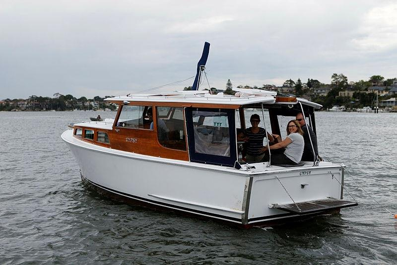 Carbon monoxide and boating photo copyright Roads and Maritime Services taken at  and featuring the Power boat class