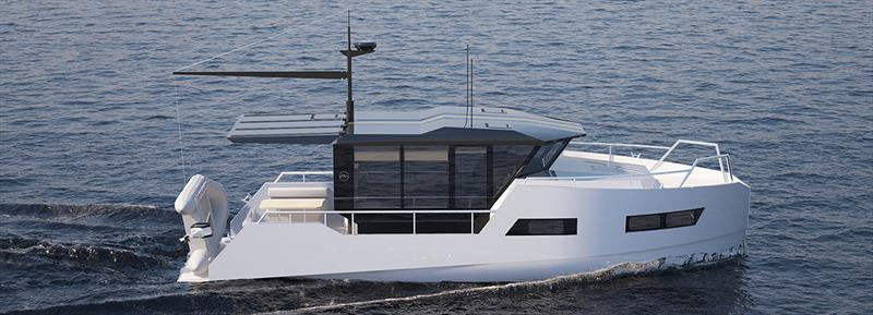 VIK unveils electric boat that can be recharged from solar