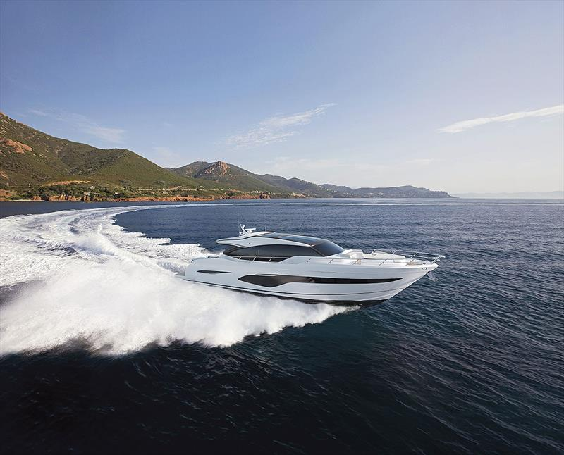 Princess V78 photo copyright Princess Yachts taken at  and featuring the Power boat class