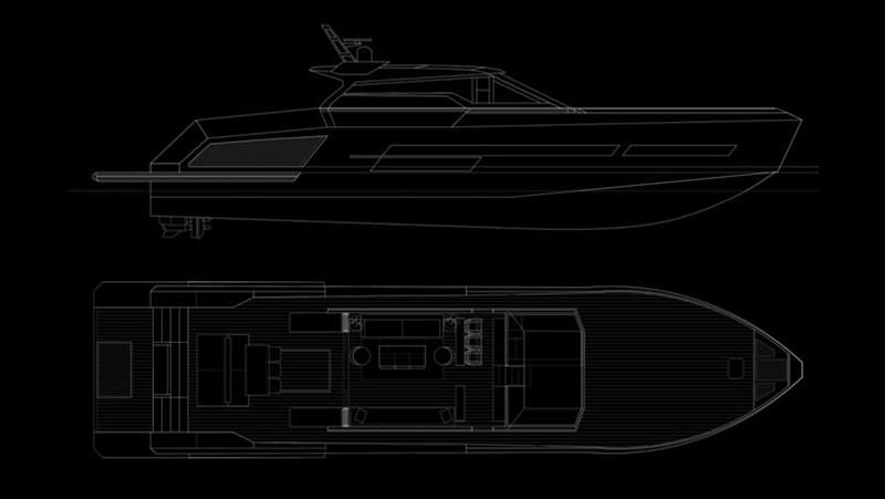 Mazu 82 photo copyright Mazu Yachts taken at  and featuring the Power boat class