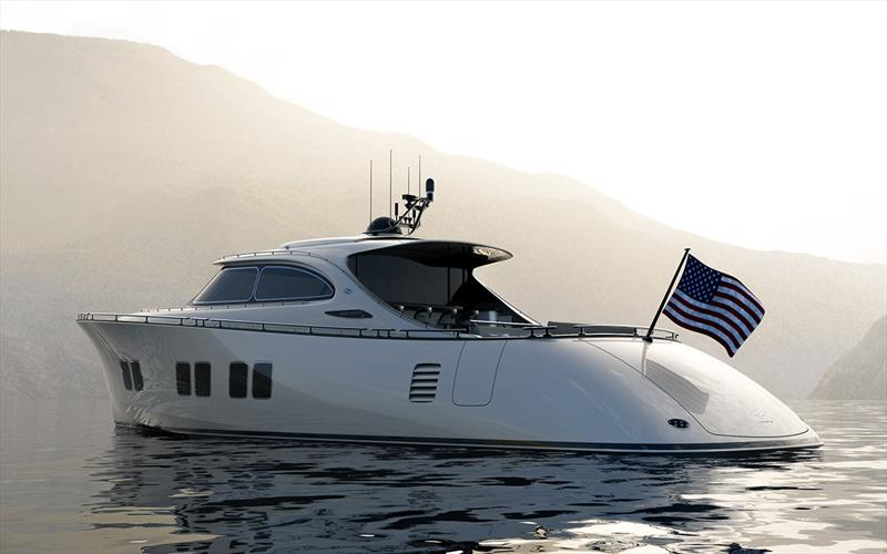 Zeelander Yachts - Z72 Moondust with black detailing - photo © Sand People