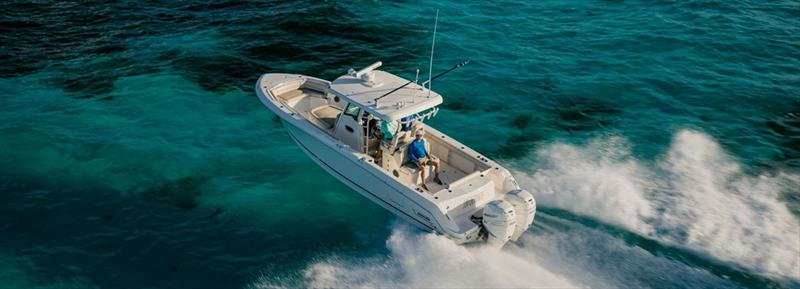 Boston Whaler 330OR photo copyright Boston Whaler taken at  and featuring the Power boat class