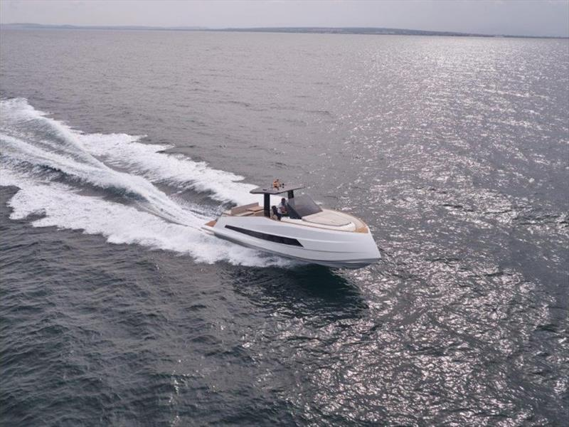 Astondoa 377  Coupé photo copyright G Marine Yacht Sales taken at  and featuring the Power boat class
