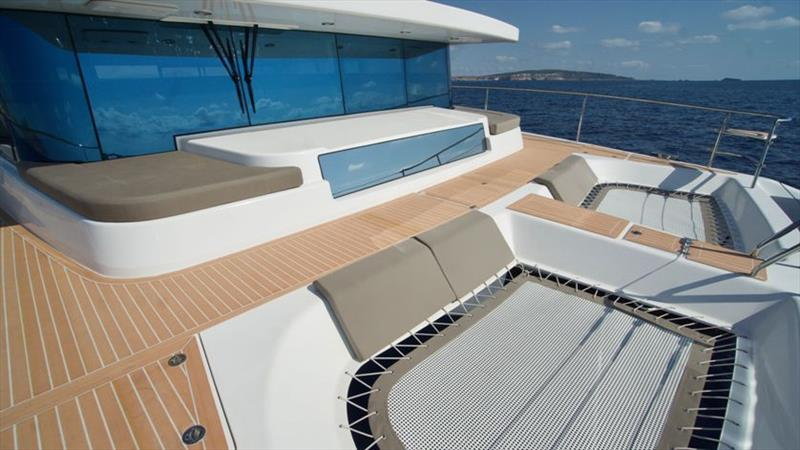 Silent 55 - Trampolin - photo © Silent Yachts