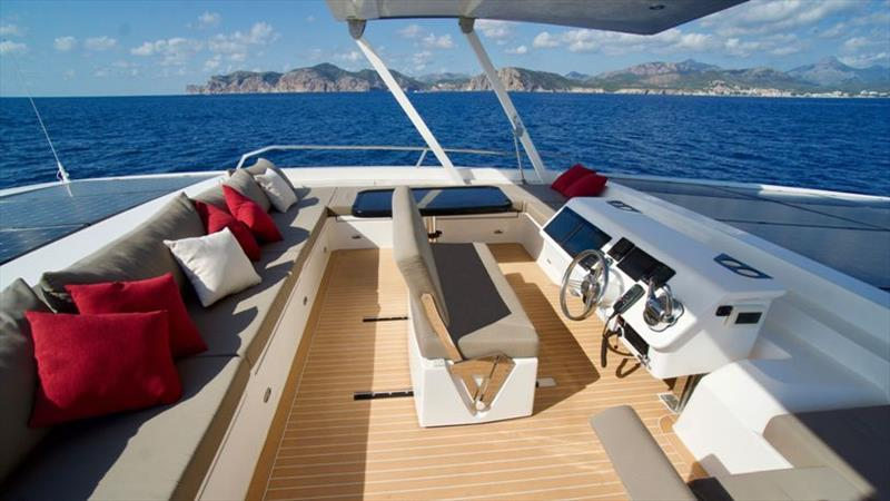 Silent 55 Flybridge - photo © Silent Yachts
