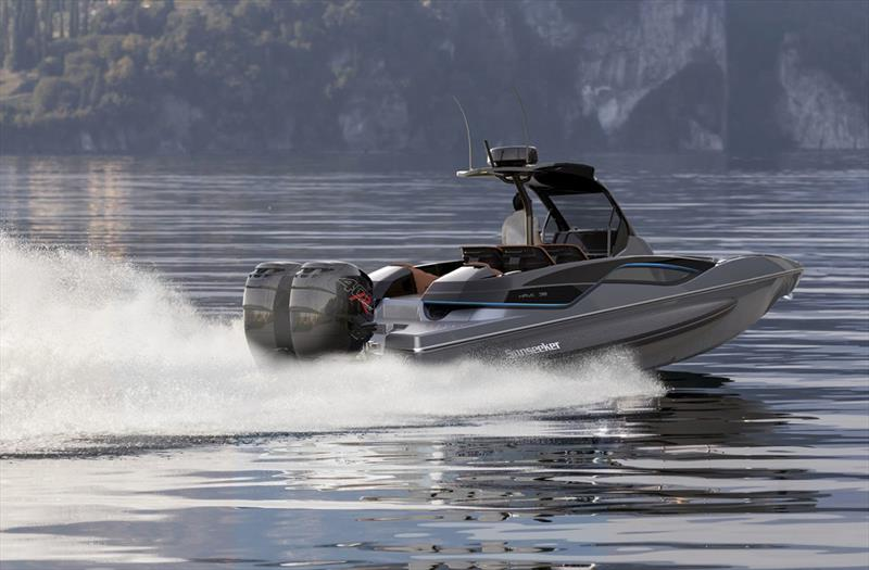 Sunseeker new high-performance Hawk 38 - photo © Sunseeker