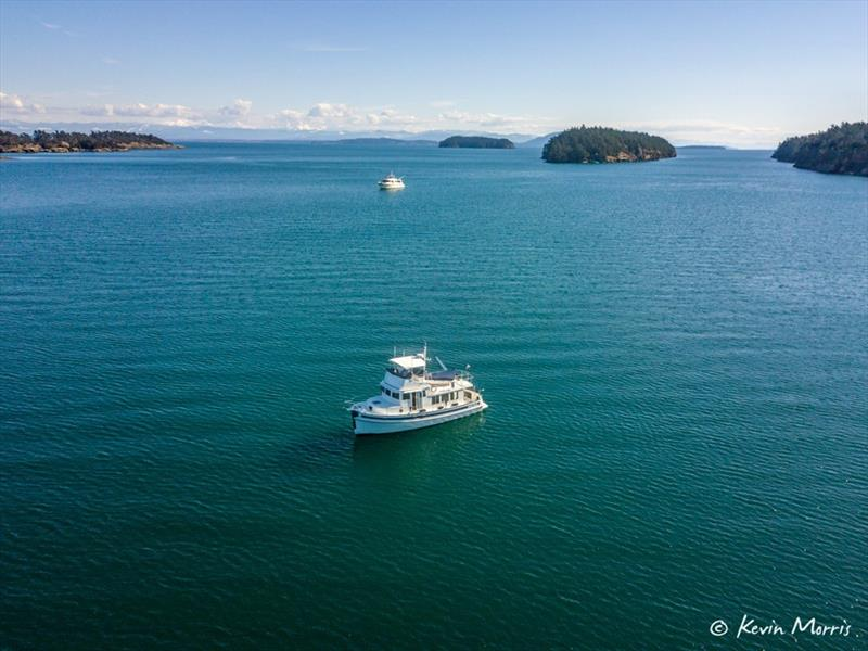 Airship - Winter cruising in the San Juan Islands photo copyright Kevin Morris taken at  and featuring the Power boat class
