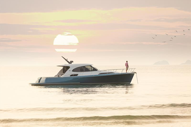 Palm Beach GT50 Express photo copyright Sand People taken at  and featuring the Power boat class
