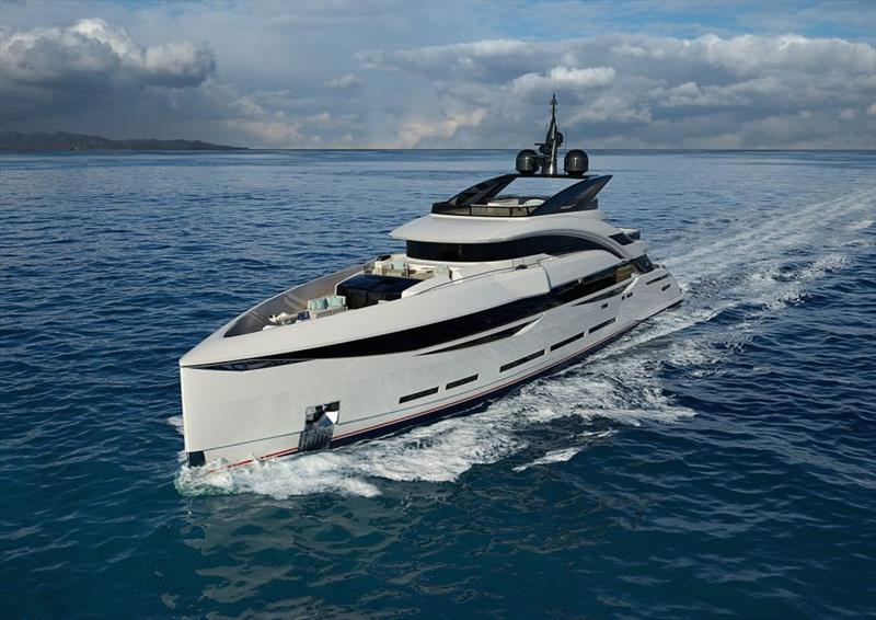 ISA Yachts sells new 45m Gran Turismo photo copyright ISA Yachts taken at  and featuring the Power boat class
