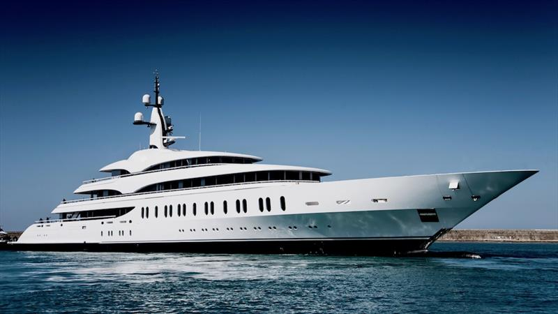 RWD designed the exterior lines of this massive yacht photo copyright Courtesy of Benetti taken at  and featuring the Power boat class