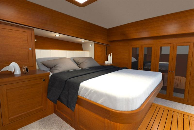Grand Banks 54 Masters Room photo copyright Grand Banks Yachts taken at  and featuring the Power boat class