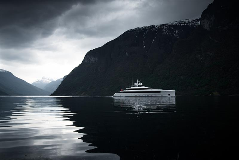 58m Najiba in Norway - photo © Tom van Oossanen