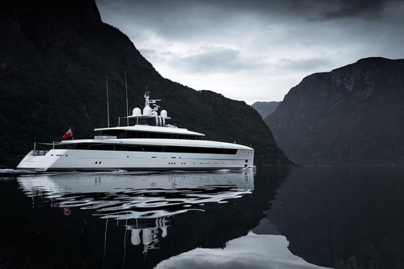 58m Najiba in Norway photo copyright Tom van Oossanen taken at  and featuring the Power boat class
