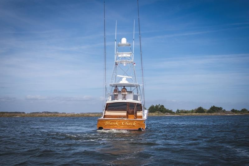Bayliss 75' Blank Check - photo © Bayliss Boatworks