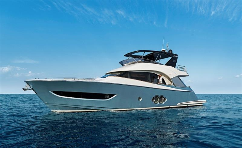 MCY66 Mooring - photo © Monte Carlo Yachts