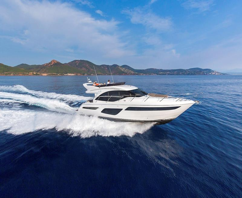 Princess F50  photo copyright Princess Yachts taken at  and featuring the Power boat class