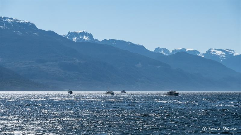 Day 6: Flotilla to Alaska photo copyright Laura Domela taken at  and featuring the Power boat class