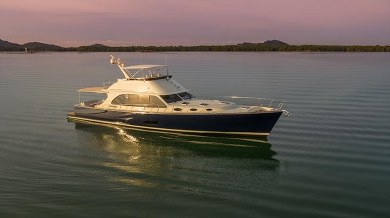 Palm Beach 70 photo copyright Palm Beach Motor Yachts taken at  and featuring the Power boat class