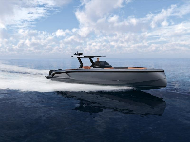 All-new VQ40 photo copyright Vanquish Yachts taken at  and featuring the Power boat class