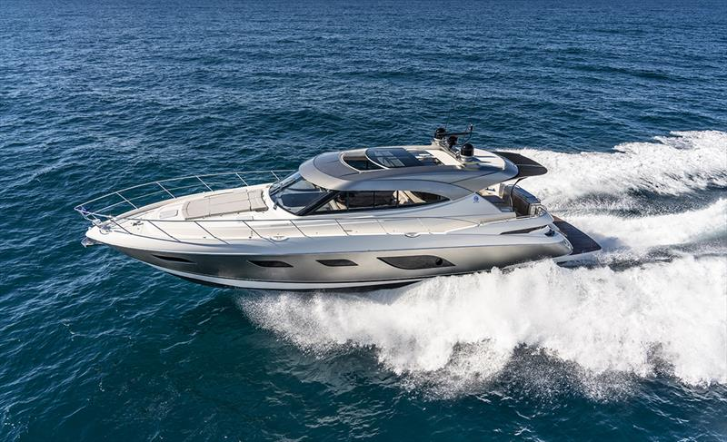 Riviera 6000 Sport Yacht Platinum Edition photo copyright Riviera Studio taken at  and featuring the Power boat class