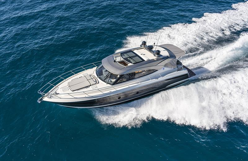 Riviera 5400 Sport Yacht Platinum Edition photo copyright Riviera Studio taken at  and featuring the Power boat class