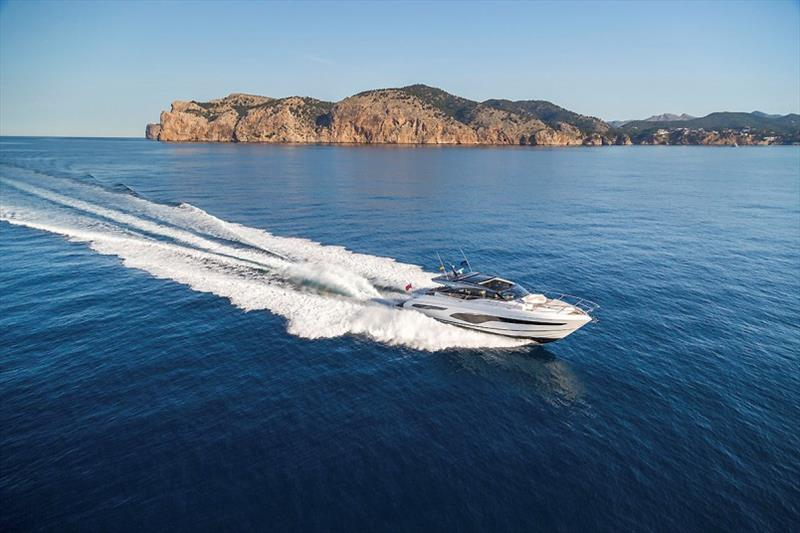 Princess V65 photo copyright Princess Yachts taken at  and featuring the Power boat class
