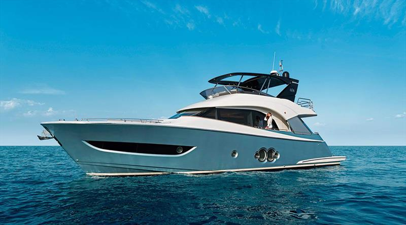 The new MCY 66 - photo © Monte Carlo Yachts