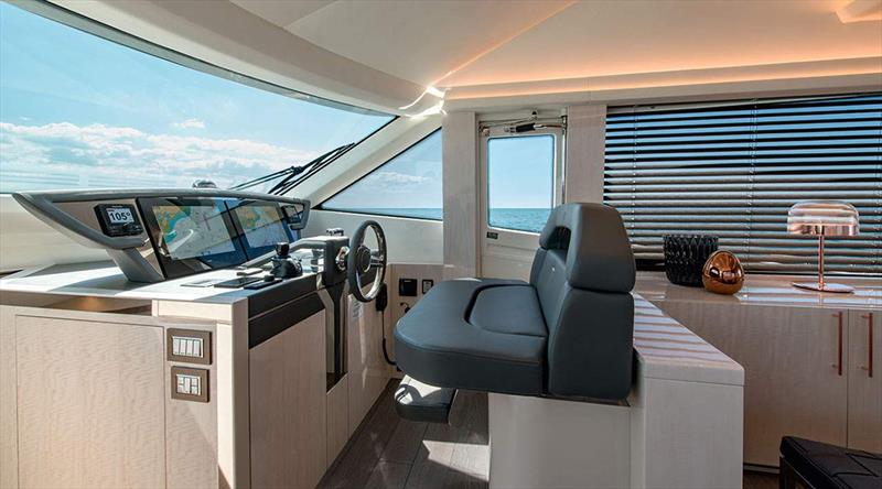 The new MCY 66 photo copyright Monte Carlo Yachts  taken at  and featuring the Power boat class