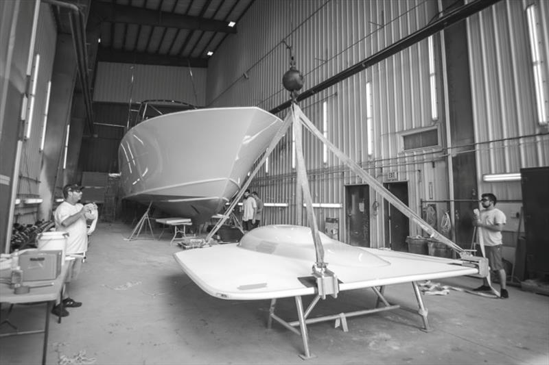 Tarheel Bayliss 62' - photo © Bayliss Boatworks
