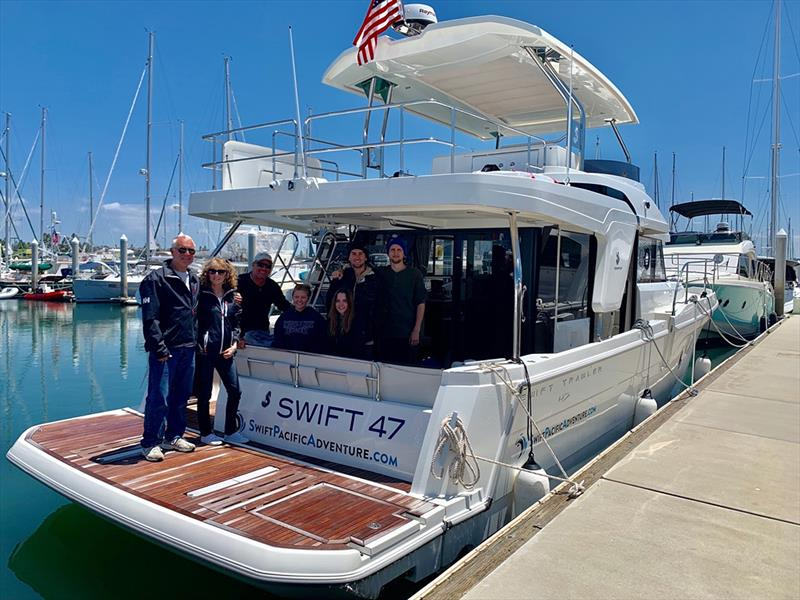 1000 mile adventure aboard the new Beneteau Swift Trawler 47 photo copyright Swift Pacific Adventure taken at  and featuring the Power boat class
