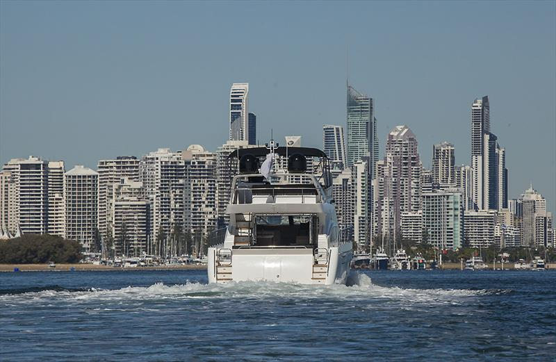 Heading back into the Gold Coast on the Longreef 60 SX - photo © John Curnow