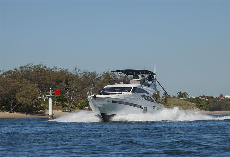 Command of the sea is a speciality of the Longreef 60 SX - photo © John Curnow