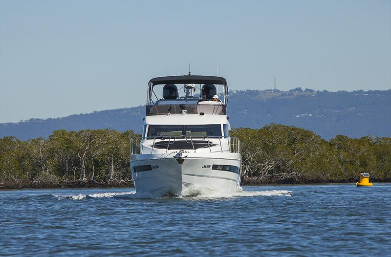 Displacement mode cruising with the Longreef 60 SX - photo © John Curnow